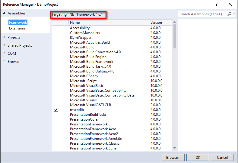 Building  NET Standard Libraries with Visual Studio 2017