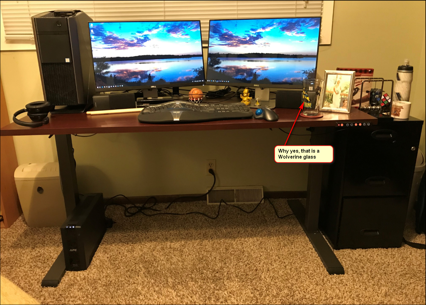 Home Office Upgrade - Winter 2017 / 2018