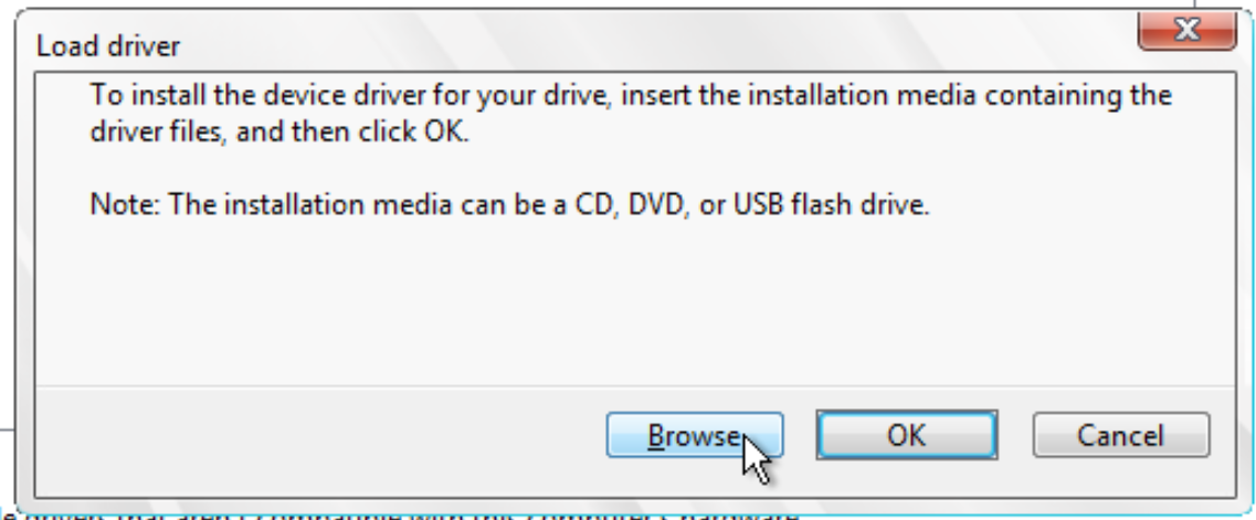 BrowseForDriver